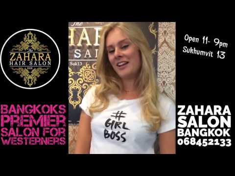 Bangkok Hair Salon Review: Zahara Thai Salon For Westerners in Sukhumvit