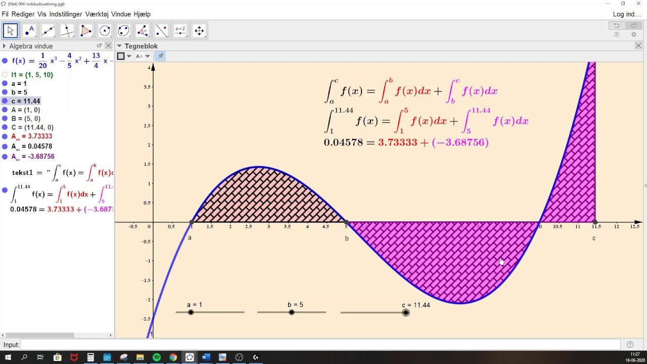 Beviser indenfor integralregning
