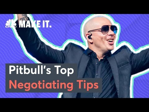 Pitbull Reveals His Most Important Negotiation Tips | CNBC Make It.