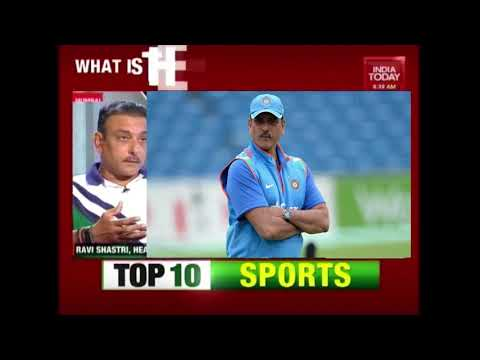 Indian Head Coach, Ravi Shastri Exclusive Interview To India Today