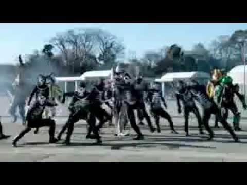 Trailer do filme Kamen Rider x Kamen Rider Wizard & Fourze: Movie Wars ...