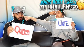 WHO'S MOST LIKELY TO ❓ CHALLENGE | IT GETS SPICY 🌶