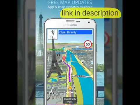 GPS Navigation & Maps Sygic pro & (Full) free on android