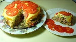 Рецепт Кабачкового Торта