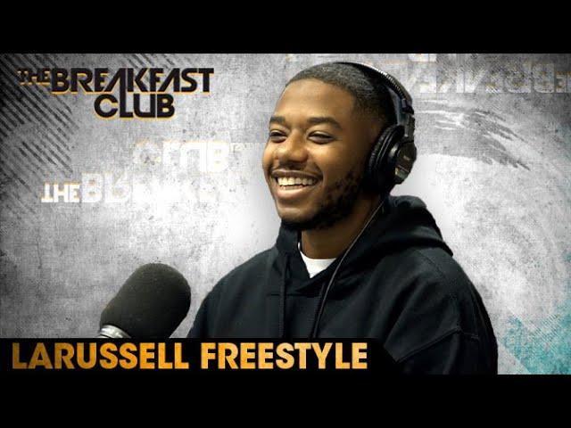 LaRussell Freestyles On The Breakfast Club
