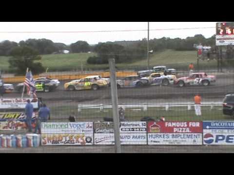 Dustan Davis Feature Win, Casino Speedway July 7, 2013