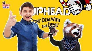 РОККИ и ЯРИК играют в CUPHEAD! Часть 3: веселье продолжается! 16+