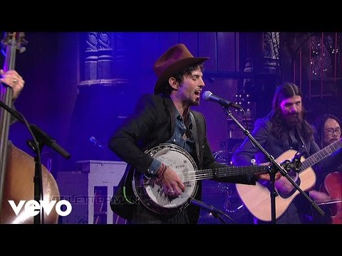 The Avett Brothers - Down With The Shine (Live on Letterman)