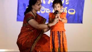 Rama Chakkani Sita ki by 3 yr old Sahana
