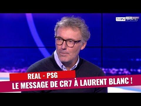 Real Madrid - PSG : Le message de Cristiano Ronaldo à Laurent Blanc