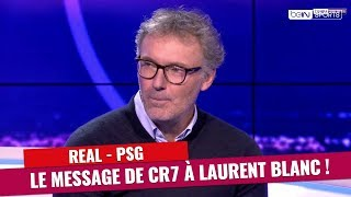 Real Madrid - PSG : Le message de Cristiano Ronaldo à Laurent Blanc