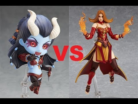 Lina VS Queen Of Pain High MMR Dota 2 Ranked