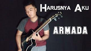 Download lagu HARUSNYA AKU - ARMADA | COVER GITAR LIVE BY WAWAN EFEK