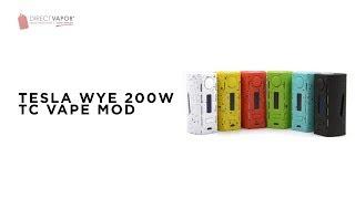 DirectVapor.com Insider: Tesla WYE 200W Vape MOD
