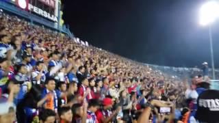 Persija vs Arema di stadion kanjuruhan aremania menyambut the jak mania