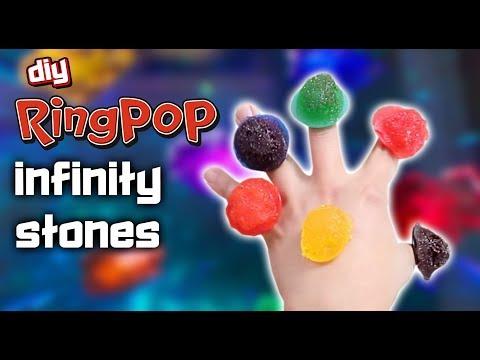 DIY RING POP INFINITY STONES - FT. FEAST OF FICTION
