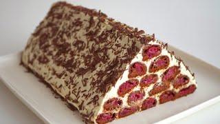 Торт Монастырская изба шоколадно медовый