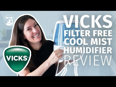 Vicks Filter Free Cool Mist Humidifier Review - Is Cool Mist The Cool-est?