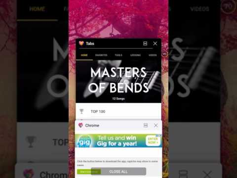HOW TO GET ULTIMATE GUITAR TABS & CHORDS FOR FREE! (Android)