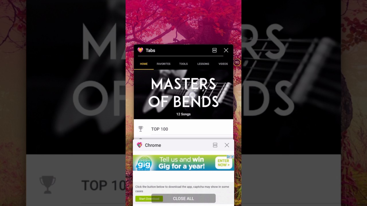 How To Get Ultimate Guitar Tabs Chords For Free Android Youtube