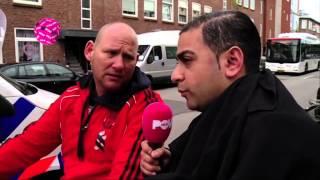 PowNews 18 april 2014: Danny liep met boerka in Haagse Duindorp