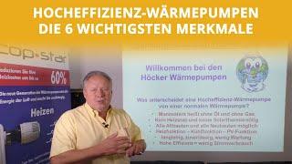 Hocheffizienz-Wärmepumpen - Die 6 wichtigsten Merkmale | Höcker Wärmepumpen