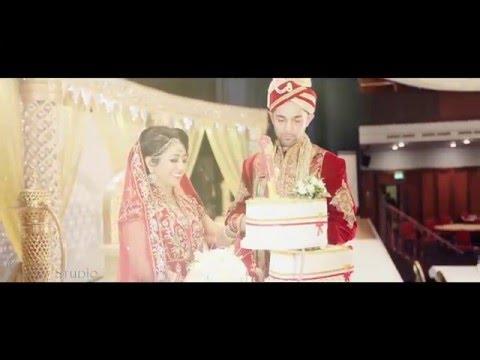 Simon & Hamida asian Wedding trailer  slow version (Teri Galiyan Ek Villain Song)