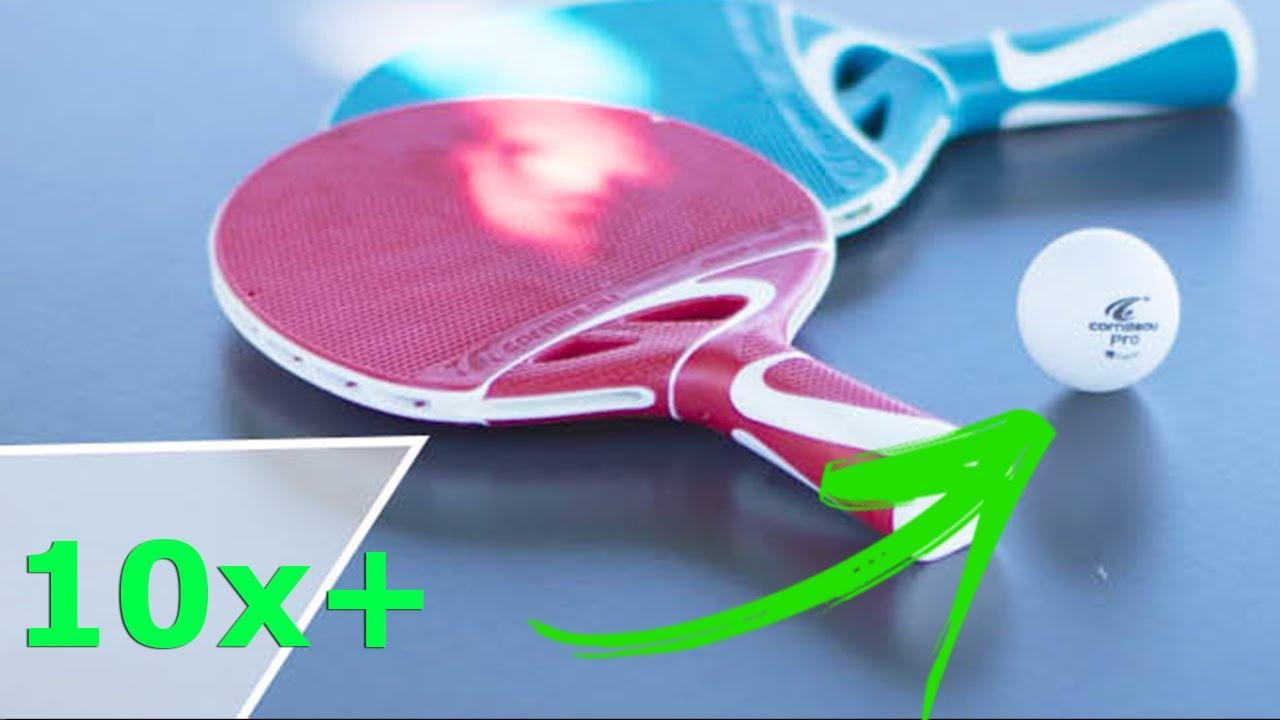 a887fab56 Kit Raquete de Ping Pong 10x Mais Resistente que as Tradicionais.  Cornilleau. Click Tenis de Mesa