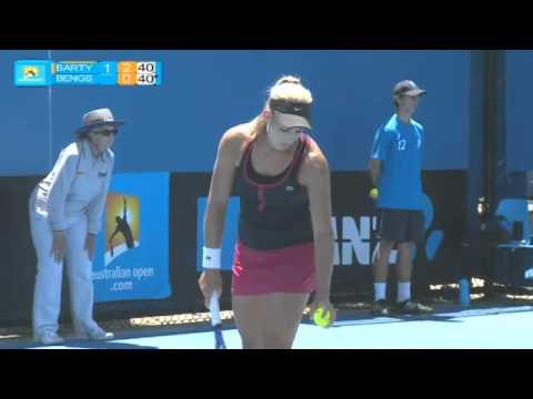 Barty v Bengson full match: Australian Open Play-off 2012