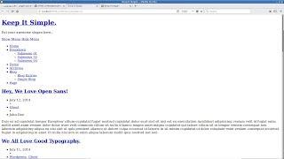 أساسيات تطوير قوالب ووردبريس: إضافة محتوى ملف index.html