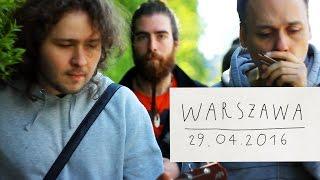 29.04.2016 - Варшава. Ноль — Человек и Кошка (кавер)