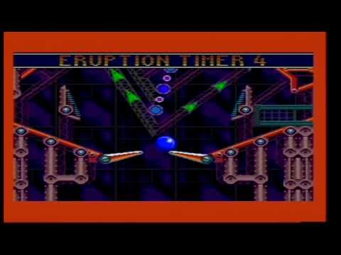 Sonic Spinball - Level Select Cheat - Sega Mega Drive