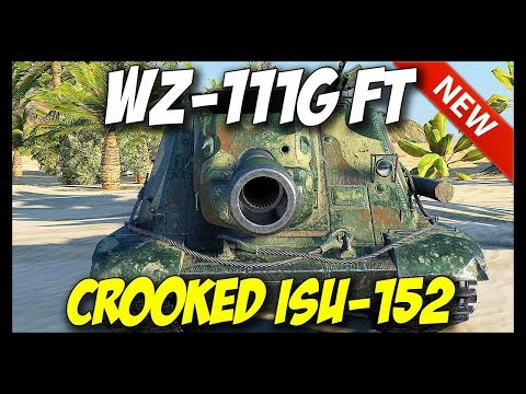 ► WZ-111G FT – Crooked ISU-152 – New Tier 9 Destroyer! – World of Tanks Patch 9.20 Update