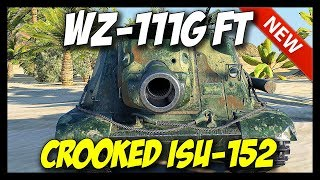 ► WZ-111G FT - Crooked ISU-152 - New Tier 9 Destroyer! - World of Tanks Patch 9.20 Update