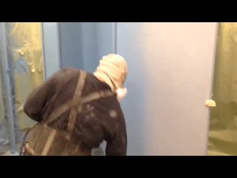 Bathroom Partitions Paint electrostatic painting bathroom partitions - youtube