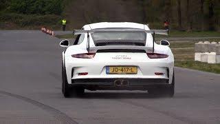 Porsche 991 GT3RS - LAUNCH CONTROL STARTS!