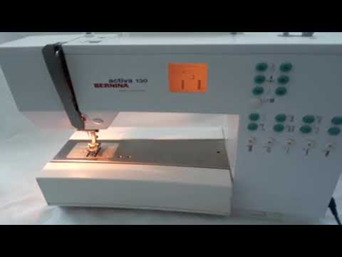 Bernina Activa 40 Sewing Machine YouTube Magnificent Bernina Activa 130 Sewing Machine