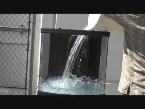 How to perform an aquarium leak test youtube for How to fix a leaking fish tank