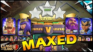 Attacking a MAX Town Hall 14!! The Poison TH in Clash of Clans!