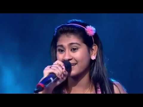 Nithyashree Indian Idol Junior Nannare nannare 16th Aug 15
