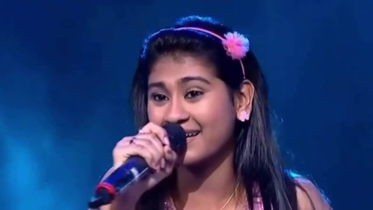 Nithyashree Indian Idol Junior Nannare nannare 16th Aug 15