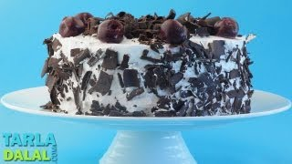 Black Forest Cake, Recipe in Hindi (बलक फरसट कक) by Tarla Dalal