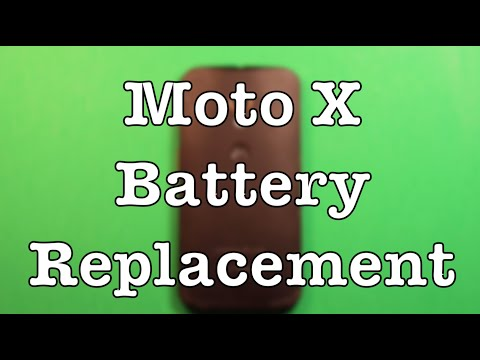 Moto X Battery Replacement How To Change