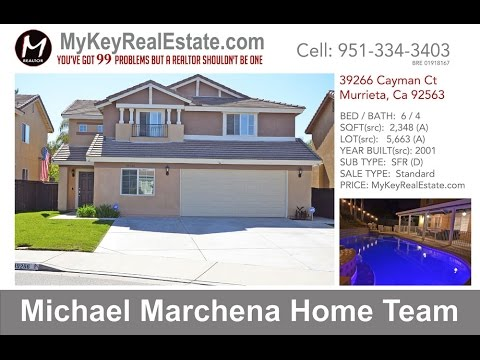 Pool Home For Sale In Murrieta California 39266 Cayman Ct Murrieta