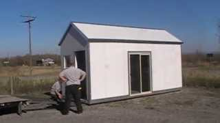 8 X 20 Small Steel Sip House Or Cottage