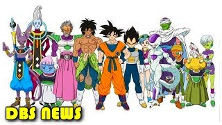 Goku, Vegeta, Frieza, Broly and Paragus New Designs | Dragon Ball Super Broly Movie News