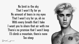 David Guetta Ft Justin Bieber 2U Lyrics