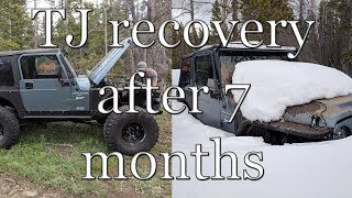 Colorado 4x4 Rescue and Recovery - Stump Hill TJ