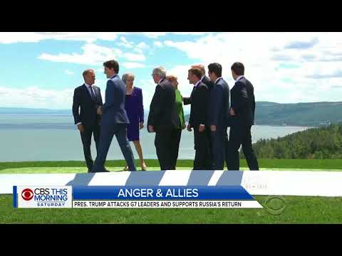 Trump provokes U.S. allies at G-7 summit