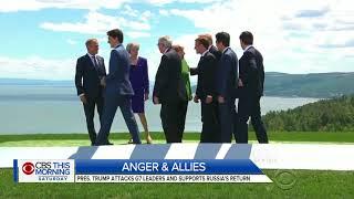 Trump provokes U.S. allies at G-7 summit